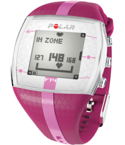 Polar FT4 Heart Rate Monitor Fitness Watch; Photo Credit: Polar.com